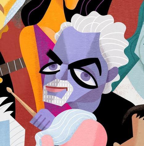 David Cowles Illustrations: Steve Gadd | Jazz Plus | Scoop.it