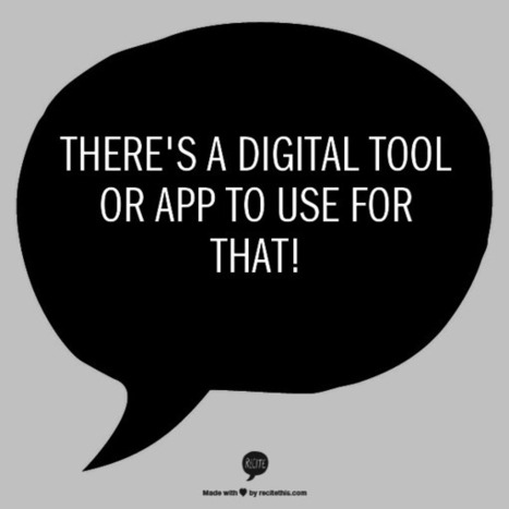 The Library Voice: Just Look At All Of The New Digital Tools & Apps We Have To Use This Year....And To Share Too! | Edtech PK-12 | Scoop.it