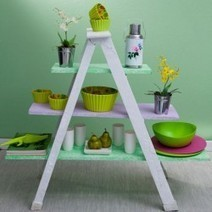Home Décor with Old Ladders | Home Tips | Scoop.it