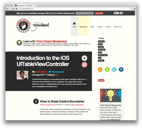 Beginner's Guide to Responsive Web Design - Treehouse Blog | Web design | Scoop.it