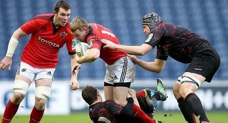 Fit again Earls set for Munster return - Irish Examiner   'Rugby Shorts'   Scoop.it