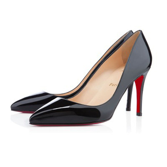 Pigalle Black Patent Leather 85mm Pumps [20131126] - $175.00 : bagbagsoutlets | bags outlet | Scoop.it