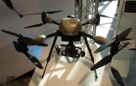[Milipol 2013] Le drone civil, gadget high-tech aux mille facettes | La Domotique et le Net | Scoop.it