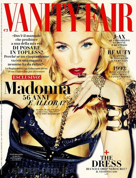 Madonna in copertina a #VANITYFAIR - JIMI PARADISE™ | FASHION & LIFESTYLE! | Scoop.it