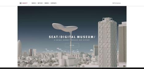 [ARTICLE CLIC] Le constructeur automobile Seat raconte son histoire dans un musée virtuel au design très innovant | Clic France | Scoop.it