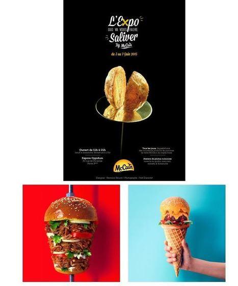 Jouer avec la nourriture, en faire une œuvre d'art… | MILLESIMES 62 : blog de Sandrine et Stéphane SAVORGNAN | Scoop.it