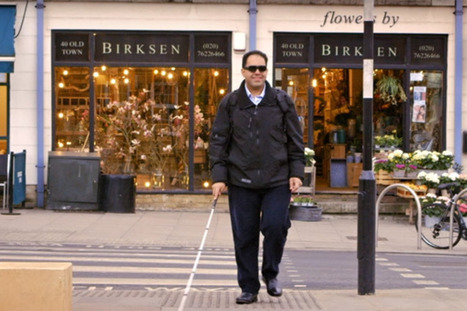 Des lunettes qui décrivent le monde aux aveugles | La technologie au service de la santé et du handicap | Scoop.it