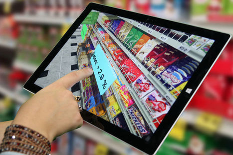 De la réalité augmentée au retail augmenté : La convergence du commerce et du e-commerce | Be Marketing 3.0 | Scoop.it