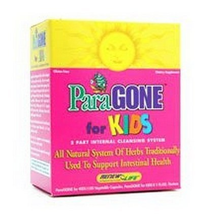 Review product Renew Life ParaGONE For Kids, 1 Kit | Herbal Supplements Reviews | Scoop.it