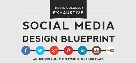 The Most Thorough Social Media Dimensions Cheat Sheet Ever [Infographic] | Social Media & sociaal-cultureel werk | Scoop.it