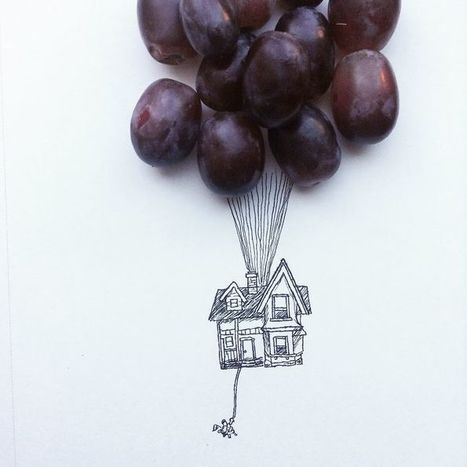 I Use Everyday Objects To Create Fun Illustrations | The Blog's Revue by OlivierSC | Scoop.it