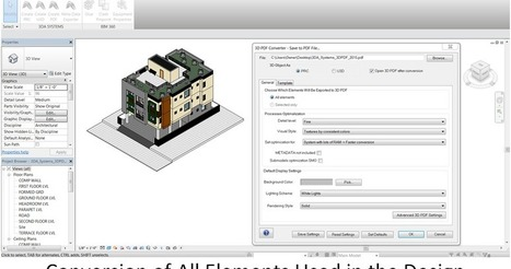 Revit Add-Ons: 3D PDF Converter by 3DA Systems Version 9.0 | BIM WORLD | Scoop.it