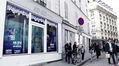 Focus sur le pop-up store digital de Kenzo à Paris ! | La Minute Retail | Les innovations retail | Scoop.it
