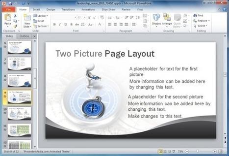 Animated Leadership PowerPoint Templates | PowerPoint Presentation | Teamwork | Scoop.it