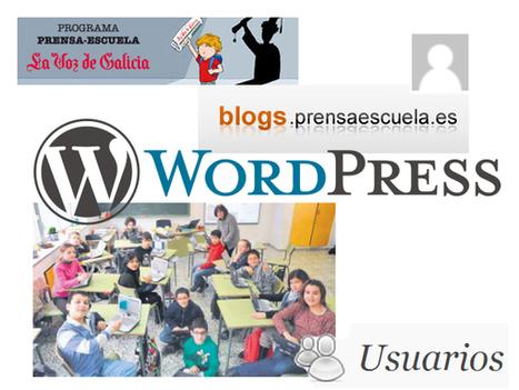 Planificación inicial: alta de usuarios en la plataforma Wordpress | Gestores del Conocimiento | Scoop.it