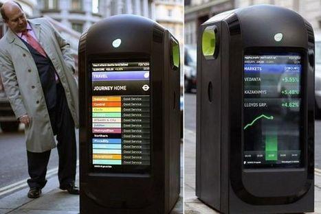 Poubelles Wi-Fi : La technologie qui fait polémique à Londres | PixelsTrade Webzine | Business Apps : Applications in-house | Scoop.it