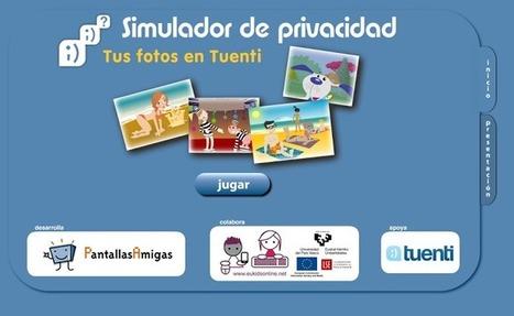 Simulador de Privacidad. Tus fotos en Tuenti   alumnos en formación   Scoop.it
