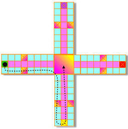 Pachisi | Year 1 Mathematics: Counting games across Asia | Scoop.it