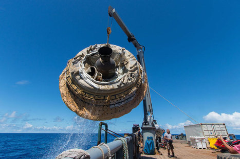 Check out this HD footage of NASA's flying saucer in action | Heron | Scoop.it