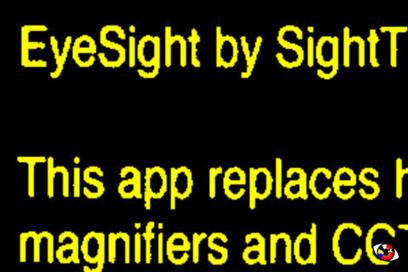 EyeSight – iTunes App Store | The Assistive Technology Daily | OT mTool Kit | Scoop.it