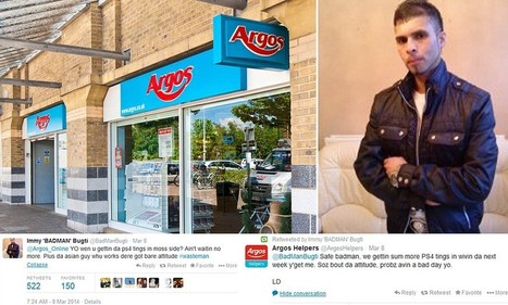Argos customer care team respond to Twitter user with street slang   Tasty Content Bites   Scoop.it