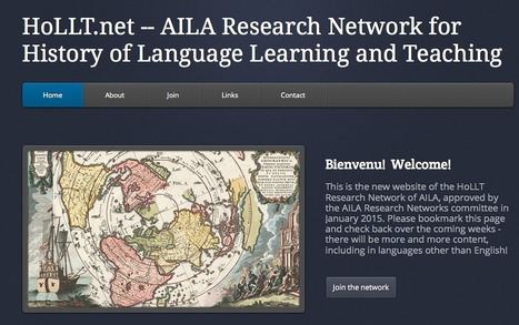 History of Language Learning and Teaching: HoLLT.net | TELT | Scoop.it