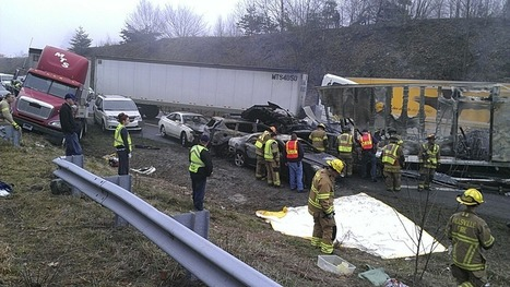 Excess Fog Leaves Three dead in massive 75-car pileup near Virginia, North Carolina border | NC & Other News | Scoop.it