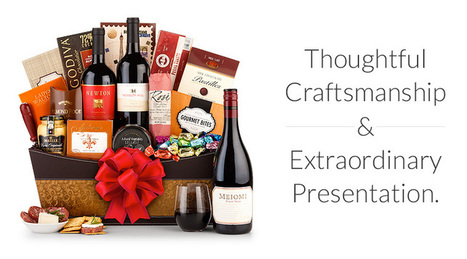Gift Baskets by GiftTree: Wine Gift Baskets, Corporate Gifts, Fruit Baskets, Flowers | Valentine Gifts Delivery | Scoop.it