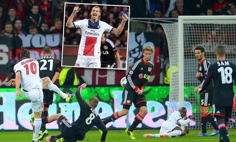 Bayer Leverkusen 0-4 PSG - Match report: Ibrahimovic scores twice | Le Paris Saint Germain | Scoop.it