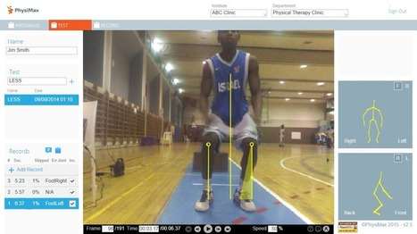 PhysiMax Provides Real-Time Biomechanics Analysis For Athletes | SportTechie | Sport# Learn#Science | Scoop.it