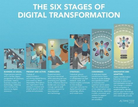 The Race Against Digital Darwinism: The Six Stages of Digital Transformation | Peer2Politics | Scoop.it