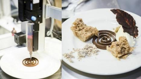 Londres abre el primer restaurante de comida impresa en 3D | Impresión 3D | Scoop.it