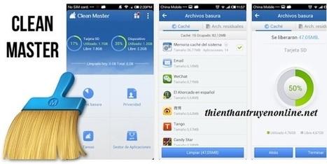 Clean master- ứng dụng tối ưu hóa điện thoại số 1 thế giới | game mobile | Scoop.it