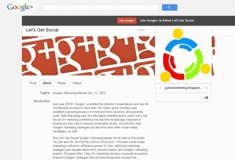 How to Use a Google Plus Brand Page as Your Business Website | Agerix; les news | Scoop.it