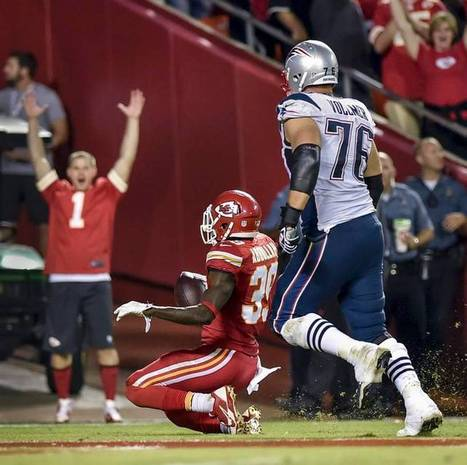 NFL says Chiefs' Husain Abdullah shouldn't have been penalized for slide, prayer in end zone | Upsetment | Scoop.it