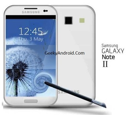 Galaxy Note 2 5.5 Inch Rumoured Scheduled for October 2012 | Geeky Android - News, Tutorials, Guides, Reviews On Android | Android Discussions | Scoop.it
