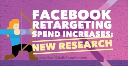 Facebook Retargeting Spend Increases: New Research | Facebook for Business Marketing | Scoop.it