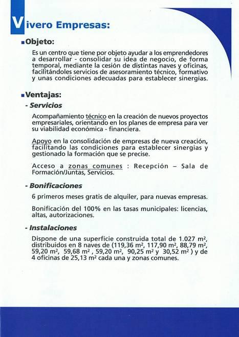 Vivero Empresas - Águilas | Investments at Águilas - Inversiones en Águilas | Scoop.it