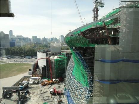 Chantier : une immense bulle de verre pour l'hôtel de ville de Séoul, par iArc Architectes. | Architecture pour tous | Scoop.it