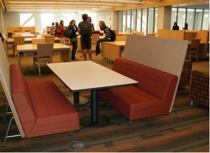 Etiquette and More: The SCU Learning Commons (aka The Library) | From Library to Learning Commons | Scoop.it