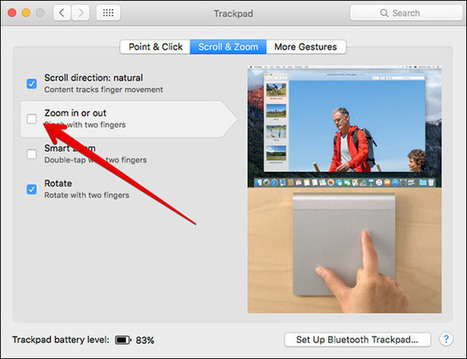 How to Turn Off Pinch to Zoom Gesture in Safari & Mac OS X El Capitan | iPhone and iPad How-tos | Scoop.it