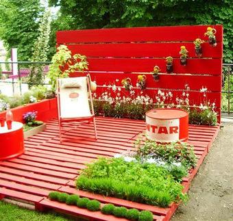 Initiales GG, une fille mais pas que...: Jardin : on recycle sa déco! | DIY DIY | Scoop.it