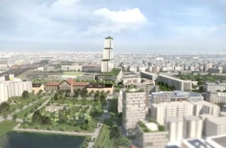 Pose de la première pierre du nouveau palais de justice, l'un des plus gros chantiers parisiens - Réalisations | Newslettter | Scoop.it
