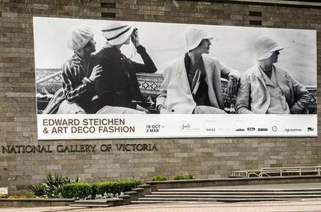 The AU Fashion: Edward Steichen & Art Deco Fashion - The National Gallery of Victoria, Melbourne (17.10.13) | the AU review | L'actualité de l'argentique | Scoop.it