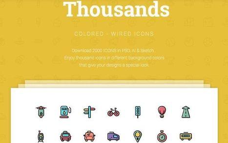 2000 iconos gratuitos para descargar y usar como quieras | Orientar | Scoop.it