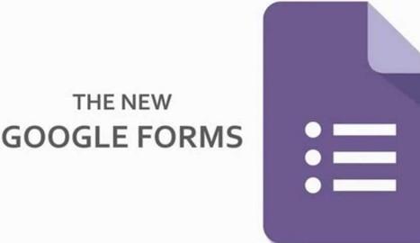 Cómo crear una prueba múltiple con Google Forms - Nerdilandia | Las TIC en el aula de ELE | Scoop.it