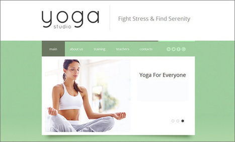 10 Yoga Principles You Should Apply in Web Design (Even if You're Not a Yoga Fan) @SmilingAnny | WebsiteDesign | Scoop.it