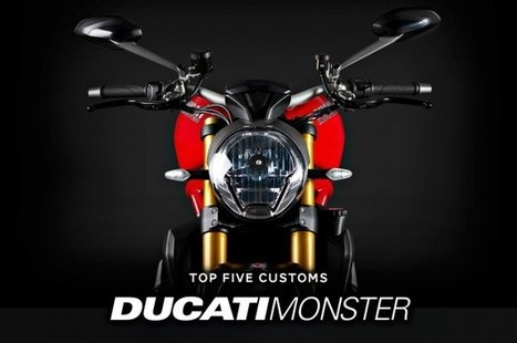 Top 5 Ducati Monster customs | Ductalk Ducati News | Scoop.it