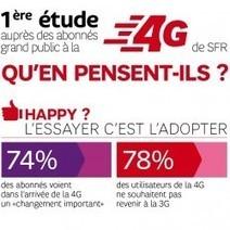 1ère étude auprès des abonnés grand public à la 4G de SFR. Qu'en pensent-ils ? | Actualité digimobile | Scoop.it