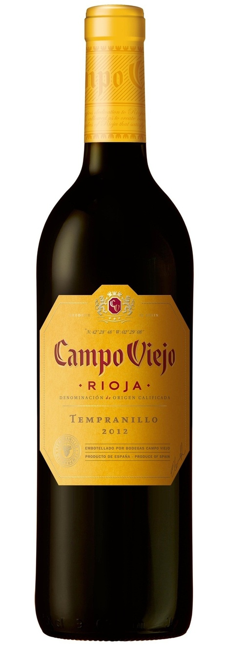 Campo Viejo's Tempranillo number one red wine in UK | Wine Industry News | Scoop.it